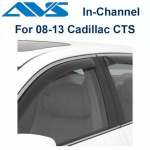 AVS Rain Guards 194447 Window Vent Visor 4Pc 2008-2013 Cadillac CTS (In-Channel)