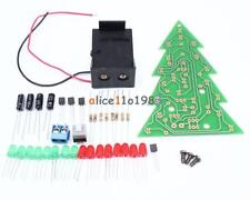 3D Christmas Tree LED DIY Kit Green//Yellow Circuit Parts Best Electro F0M7