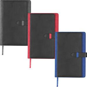 Notizbuch A5, Kunstleder,mit Lasergravur & Visitenkartenfach