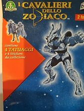 Les Cavalieri de Zodiaque 4 Tatouages 4 Stickers de collection Jeux De valeur