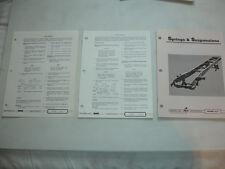 Mack Truck Springs Suspension Factory Repair Shop Service Manual OEM