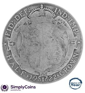 1920 TO 1936 GEORGE V SILVER HALF CROWNS - CHOICE OF YEAR / DATE