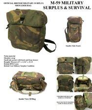 Shoulder Bag With Adjustable Shoulder Strap - British Military - Dpm Camo Used
