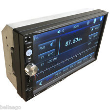 17.8cm DOPPIO 2 DIN BT IN Cruscotto Autoradio MP5 Lettore FM/USB/SD AUTOMATICO