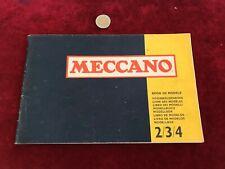 catalogue brochure de jouet N 18 meccano