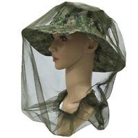 Zanzara Repellente Cappello Protettivo Maschera Testa Copertura Insetto 50*55cm
