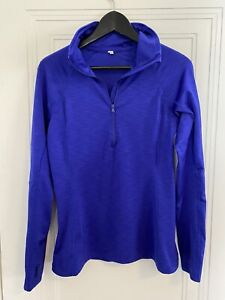 Women's Under Armour Long Sleeve 1/2 Zip High Neck Athletic Pullover Size Small