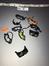 1/6 Modern Dust Goggle  Lot  -  Dragon, Ultimate Soldier, GI  Joe ETC