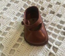 Vintage MaryJane Cinderella Doll Shoes Size 03 Single R Foot Fit 8� Ginny Etc