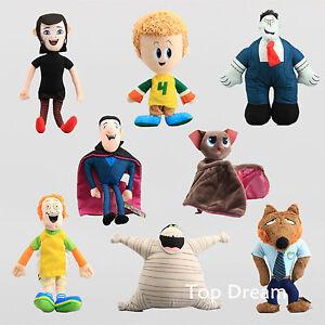 Hotel Transylvania Toys MURRAY Mummy Mavis Bat Dracula Plush Toy Doll Figures