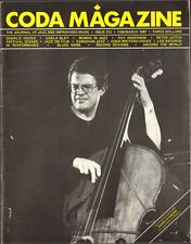 CODA 212 Charlie Haden CARLA BLEY Peter Leitch RAY ANDERSON Red Rodney M WATERS