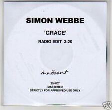 (B417) Simon Webbe, Grace - DJ CD