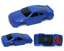 1994 TYCO Thunderbird SC Test Shot Slot Car Body Unused Blue Black&Red Test Shot