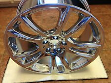 OEM Mercedes Benz SL550 A2314011302 5 Twin Spoke Wheel Chrome 19X9.5 2012-13