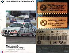 RARE BMW Motorsport E 36 M 3 S 50 B 30 Group N Race Car ECU Chip Set Gr N Gruppe N