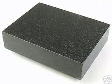 "Precision Black Granite Surface Plate 12"" x 9"" x 3"""
