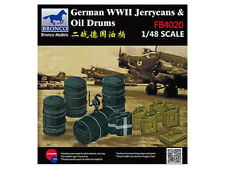 Bronco 1/48 WWII German Jerry Can & Fuel Drum #4020 #FB4020 *Sealed*
