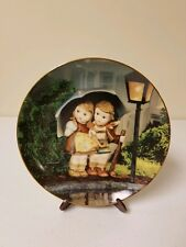 """Hummel """"Stormy Weather"""" Collector Plate from Danbury Mint Vintage 1989"""