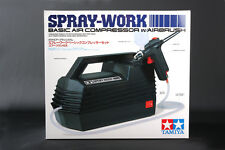 Tamiya 74520 Spray-Work Basic Air Compressor w/Airbrush For Model Paint Tools