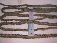 4Y D'KEI C1541 METALLIC SLATE BROWN BOUCLE LOOP CORD DRAPERY UPHOLSTERY TRIM
