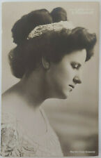 "Leila Holterhoff Antique Postcard Blind Concert Singer ""Helen Keller of Music"""