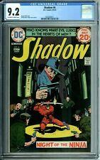 SHADOW 6 CGC 9.2 NIGHT OF THE NINJA DC Comics 1974 NEW CGC CASE