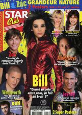 Magazine STAR CLUB n°243, BILL, Zac EFRON, Alicia KEYS, SIMPLE PLAN, Craig DAVID