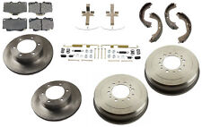 NEW Toyota Tacoma 2WD 98-8/02 Premium Complete Brake KIT Rotors Drums Pads Shoes