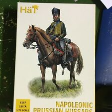 1/72 Napoleonic Prussian Hussars Cavalry figures 8197