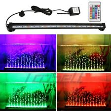 New listing Aquarium Fish Tank Underwater Submersible Color Changing Led Air Bubble Light Us