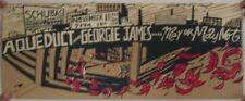 Aqueduct Georgie James Poster Schubas November 11 Mint S/N Silkscreen