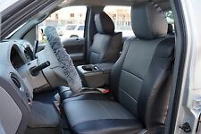 FORD F-150 2004-2008 IGGEE S.LEATHER CUSTOM FIT SEAT COVER 13COLORS AVAILABLE
