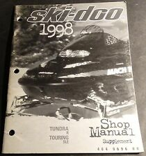1998 SKI-DOO SNOWMOBILE TUNDRA & TOURING P/N 484 0696 00 SHOP SUPPLEMENT (638)