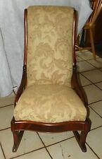 Walnut Empire Child's Rocker / Rocking Chair  (R83)