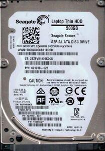 ST500LT015 P/N: 1DJ142-022 F/W: 1003SED7 WU W3P Seagate 500GB