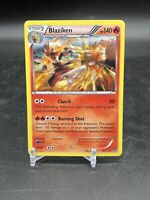 Blaziken HOLO RARE 14/111 XY Furious Fists Pokemon Card 2014