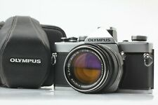 *EXC+5 w/Case* Olympus OM-1 Camera w/ G Zuiko Auto-S 50mm f/1.4 Lens JAPAN