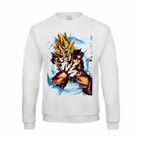 Sweat-shirt Homme goku super saiyan kameha dragon ball dbz manga