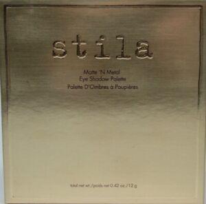 Stila Matte N Metal Eyeshadow Palette Full Size 0.42 oz New in Box