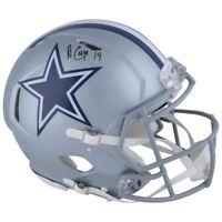 AMARI COOPER Autographed Dallas Cowboys Speed Helmet FANATICS