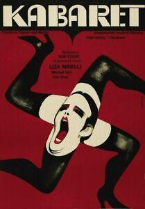 Greeting Card / Cabaret / Kabaret Movie Poster, 1972 / Bob Fosse / Joel Grey