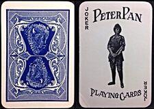 1909 Peter Pan American Playing Card Co. Kalamazoo Patience Deck Rare Box 52+J