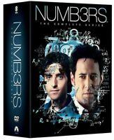 NUMB3RS Complete Series Season 1-6 DVD 31-Disc Box Set NUMBERS Sealed US Seller