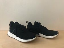 Adidas NMD R2 PK Primeknit Japan Pack Black White Men Running Shoes BY9696 10