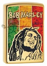 Zippo Bob Marley Fusion Lighter, High Polish Brass #29490