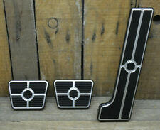 BILLET SPECIALTIES THROTTLE BRAKE CLUTCH PEDAL SET HOT ROD CUSTOM GAS PAD CHEVY