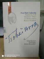PIOTR ILIJCH CIAIKOVSKIJ--SINFONIE 4 5 6 -OVERTOURE-4 CD NUOVO CUSTODIA PIEGATA