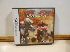 MX vs. ATV Untamed Nintendo DS Game COMPLETE w/ Manual THQ (Motorsport Racing)