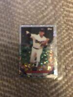 "Nolan Ryan 1993 ""TOPPS MICRO PRISM"" Mini MLB Baseball Card #P700"