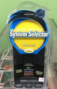 Pelican Universal System Selector Xbox Ps2 GameCube DVD CD New In Package